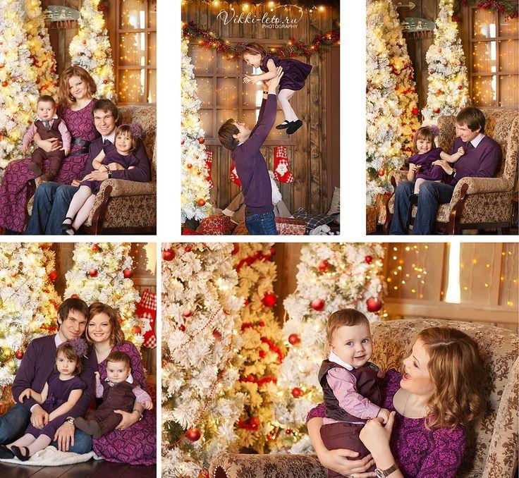 Семейная фотосессия в студии – идеи и полезная информация
