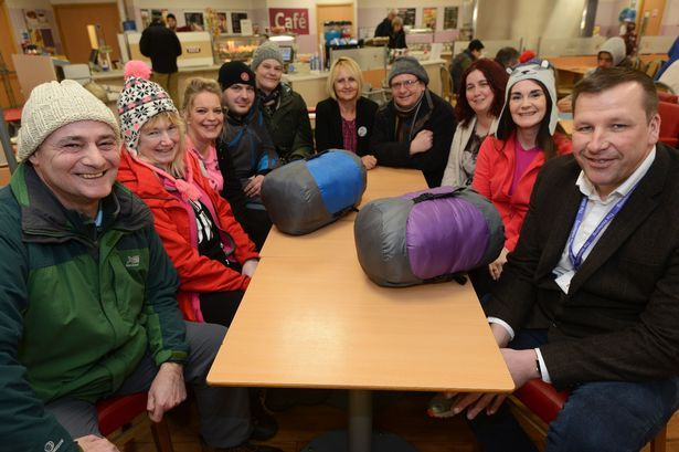 Take part in the Stockport Sleep Out in a supermarket car park to raise awareness for homeless - Manchester Evening News