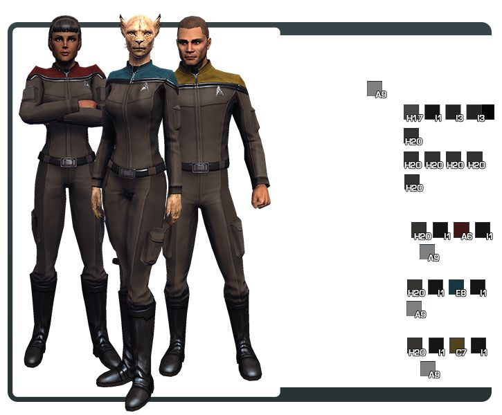 304 best Star Trek uniforms images on Pinterest ...