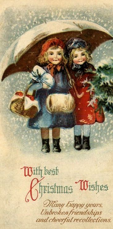 Vintage Christmas greeting...