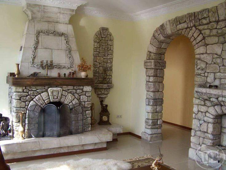 Дровяные камины (93 фото): встраиваемые модели длительного горения на дровах