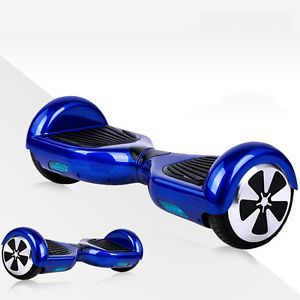 Blue Electric Self Balancing Scooter Hover Board Unicycle Balance 2 Wheel  2Gen | eBay