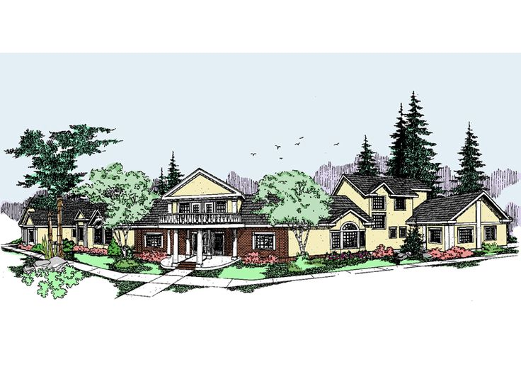 The Addison House Plan House Plans