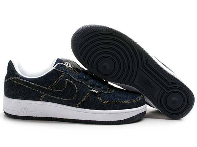 Chaussures Nike Air Force One Blanc/ Bleu [nike_10512] - €58.92 ...