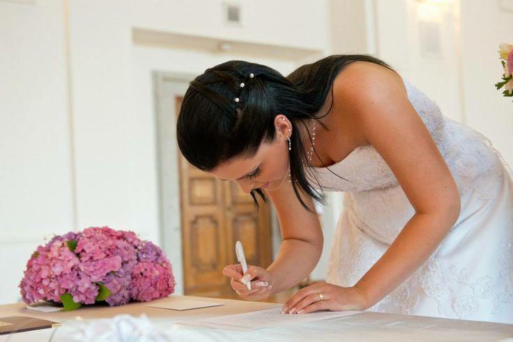 Wedding hairstyle...  Svatební účes...