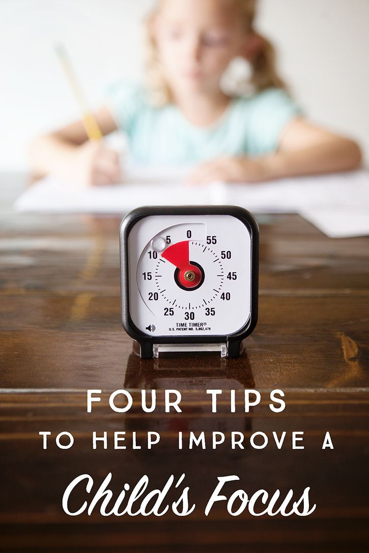Tips to Help Improve a Child s Focus Simple parenting tip to keep kids ...