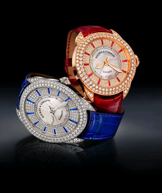 The Blue Velvet and the Red Rose - Regency England was when London was at its most elegant and most decadent, most stylish and most radical. These timekeeping jewels from Backes & Strauss celebrate this era unveiling The Blue Velvet and The Red Rose - Discover more on wwwbackesandstrauss.com