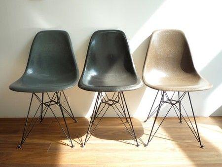 Eames : shell side chair dsr (Elephant Hide Grey)
