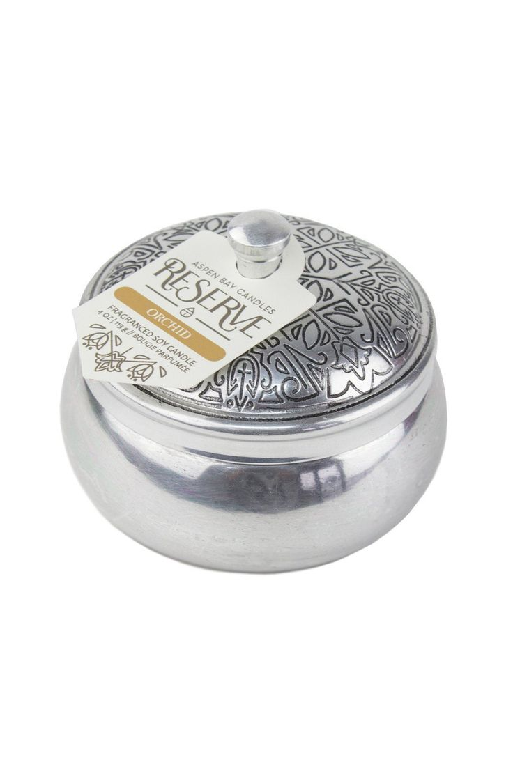 Aspen Bay Candle - Orchid Candle in Tin Container