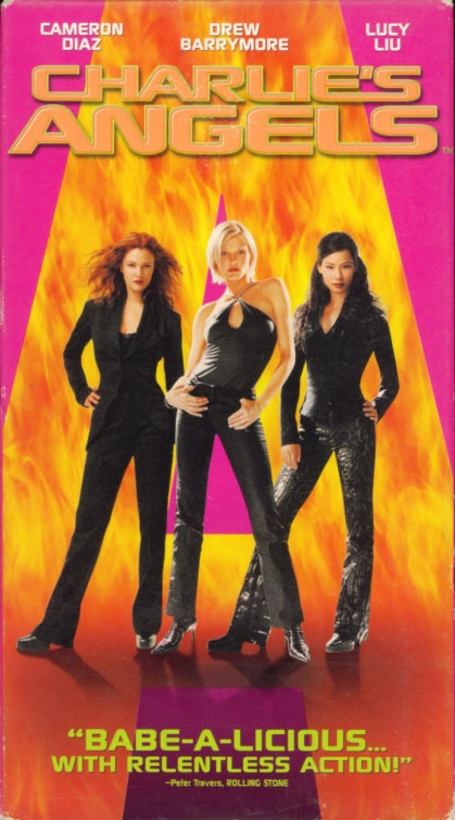 Charlie's Angels. Movie starring Cameron Diaz, Drew Barrymore, Lucy Liu, Bill Murray. With Crispin Glover, Tim Curry, Kelly Lynch, Sam Rockwell. Directed by McG. 2000.