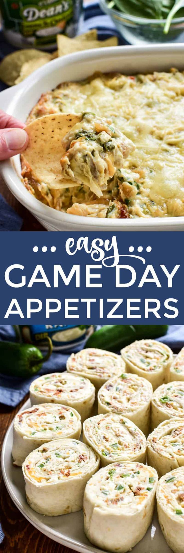 Sponsored These Easy Super Bowl Appetizers Start With Deansdip And Are Packed With The