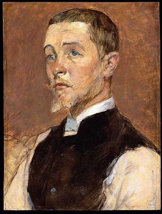 Henri de Toulouse-Lautrec ~ Albert (René) Grenier, 1887