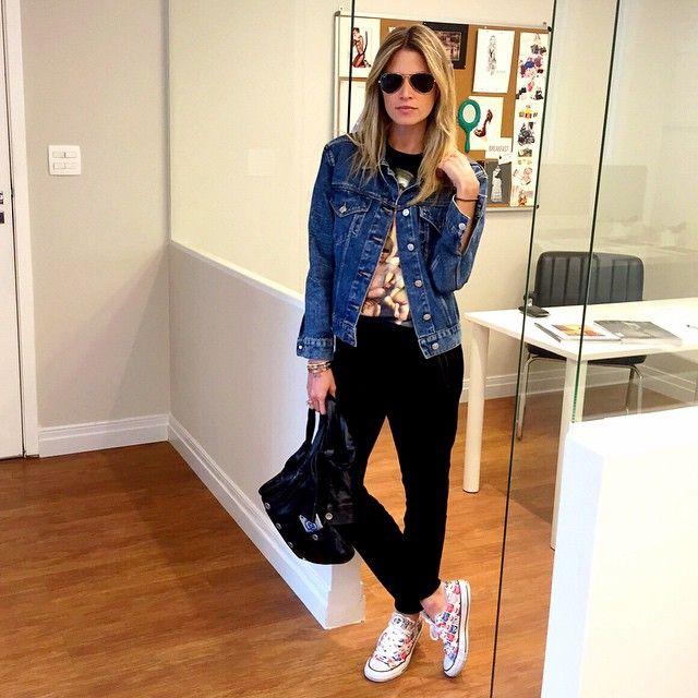 Jaqueta jeans - Helena Bordon