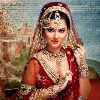 Remarkable 185 Best Images About Indian Bridal Wear On Pinterest Indian Hairstyle Inspiration Daily Dogsangcom