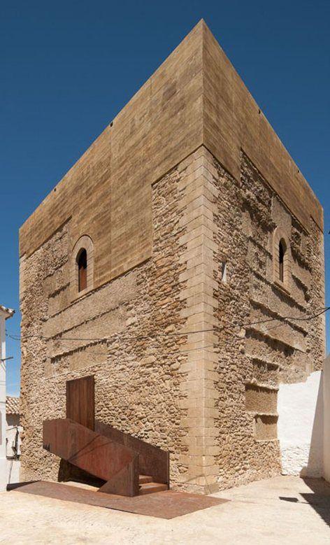 Restoration of the Setenil de la Bodegas Homage's Tower, Setenil de las Bodegas…