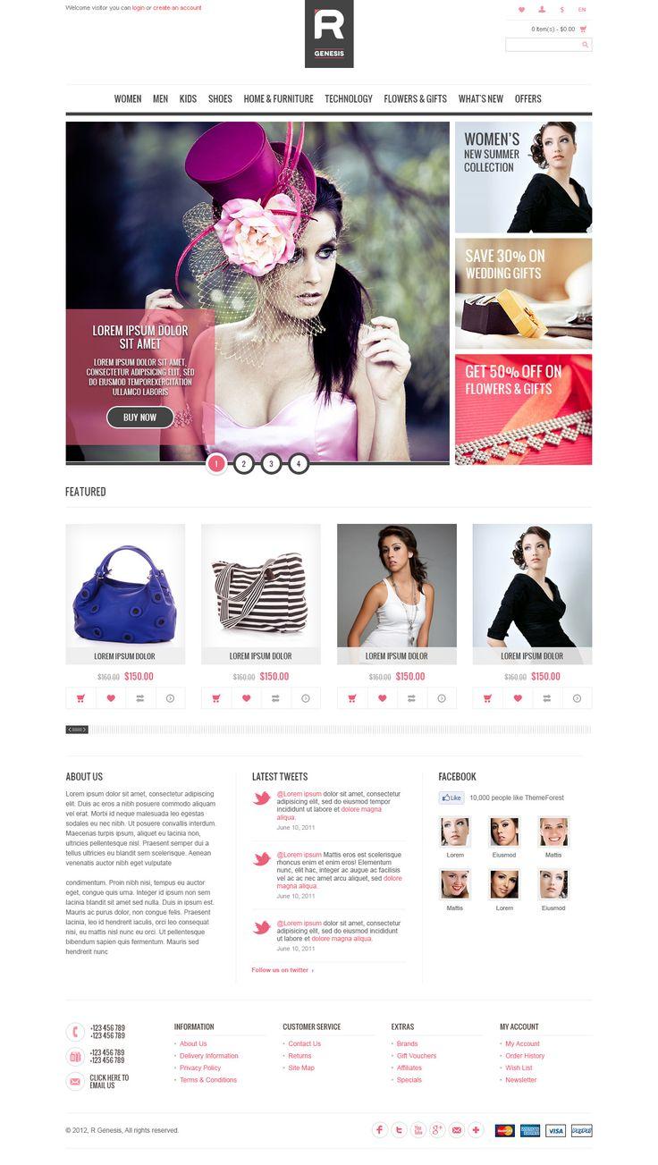 Cupid - R.Gen OpenCart Store Template - ThemeForest