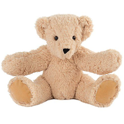 Vermont Teddy Bear - Soft Cuddly Bear, 15 inches, Caramel, Made in the USA - Toys 4 My Kids