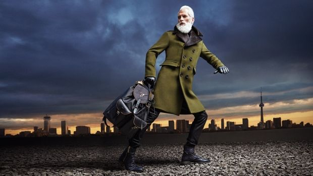 Paul Mason, also known as Fashion Santa, is seen in this undated handout photo. The Toronto-based model has gained international attention for his collaboration with Yorkdale Shopping Centre as the mall's Fashion Santa. Mason is featured in Yorkdale's holiday campaign, and is taking selfies with shoppers to raise funds for Toronto's Hospital for Sick Children. THE CANADIAN PRESS/HO-Chris Nicholls