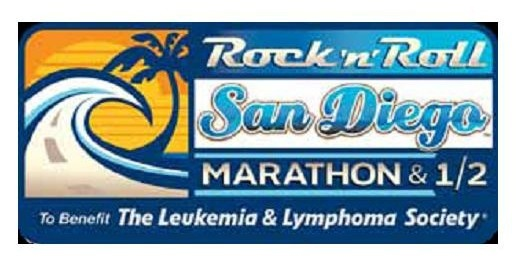 San Diego Rock'n'Roll Marathon Click to go to the website GREAT series!