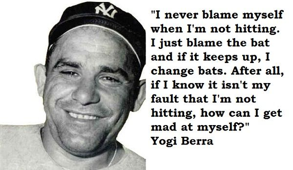 interesting sayings from yogi berra | yogi berra quotations sayings famous quotes of yogi berra yogi berra ...
