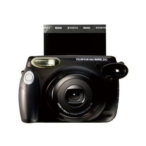 INSTAX 210 Camera - With its rounded shape, easy-to-hold side grip, and fingertip controllable composite control panel, the instax 210 offers vivid, high-quality prints almost instantly. Its automatically-adjusting flash, high-resolution retracting lens and big clear viewfinder add up to unsurpassed performance $67