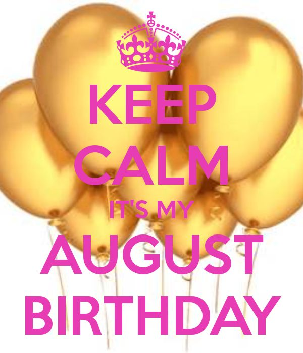 August Month Birthday Quotes – Daily Motivational Quotes