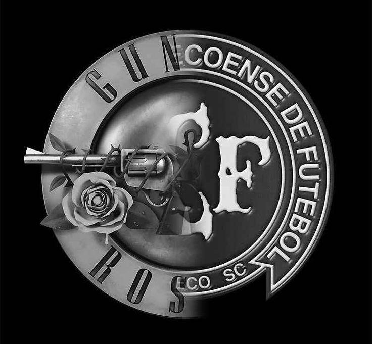 Guns N' Roses homenageia Chapecoense com montagem de escudo nas redes sociais - Superesportes