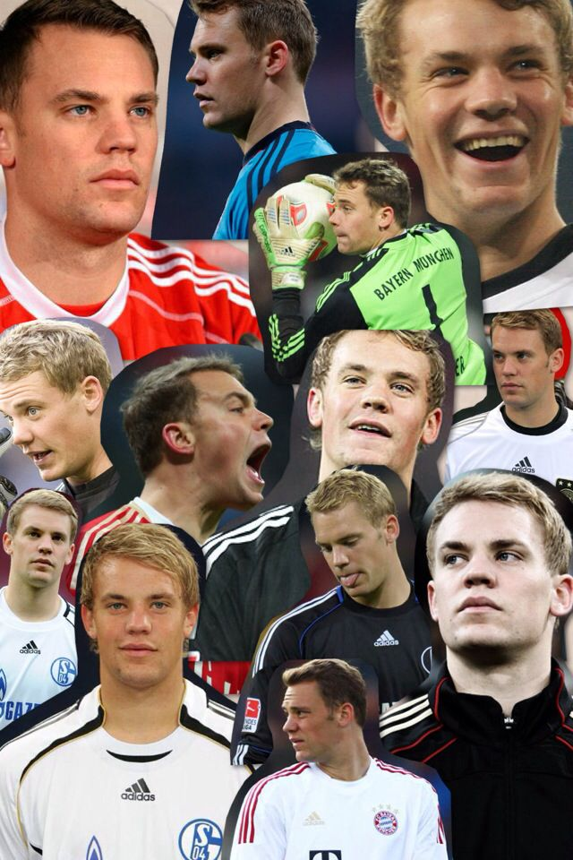 My collage of Manuel Neuer