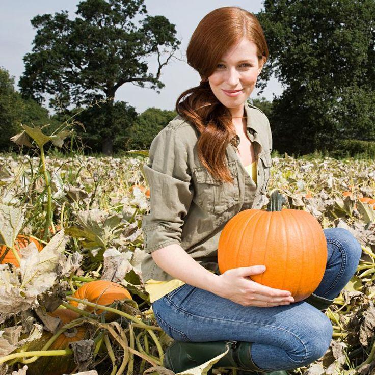 In de herfst zijn pompoenen op hun best ze sieren met hun oranje kleur niet alleen het - Hoe het sieren ...