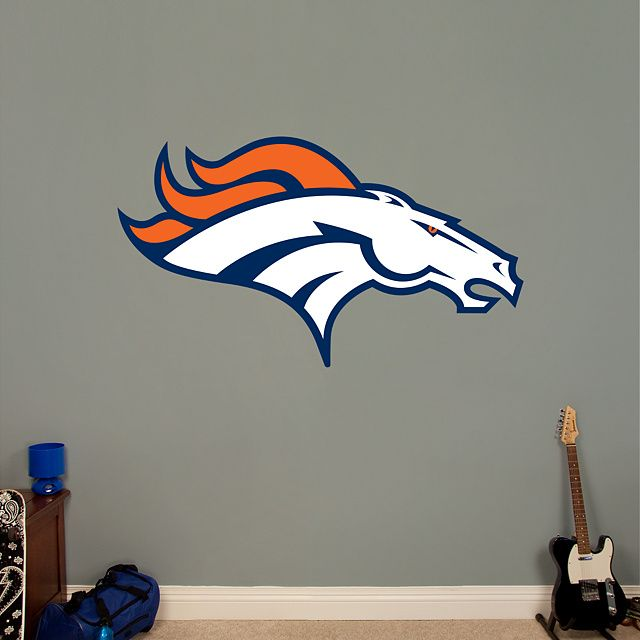 Denver Broncos Wall Decor 19 best denver broncos (wo)man caves and rooms images on pinterest