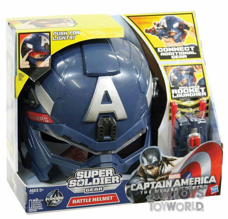 Captain America Super Solidier Helmet -
