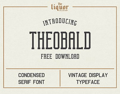 """Check out new work on my @Behance portfolio: """"Theobald Clean FREE FONT"""" http://be.net/gallery/57210587/Theobald-Clean-FREE-FONT"""