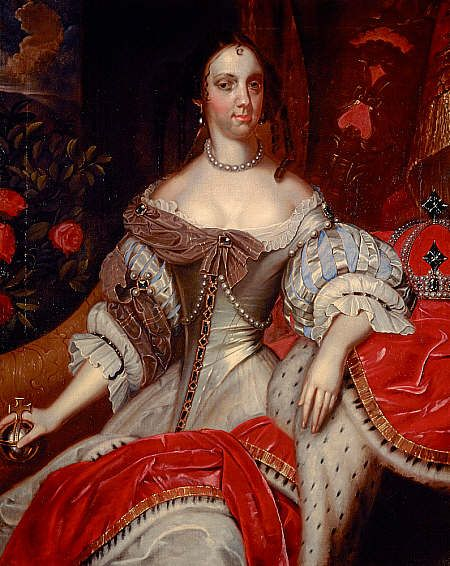 Catherine of Braganza, 1638 - 1705. Queen of Charles II Around 1662 - 1665