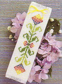 bookmark - Counted Cross Stitch This is not my photo. Forgot to get pics before giving it away.
