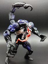 MARVEL 17cm Scorpion Stinger Venom Action Figure Thrid-generation Mac Gargan SpiderMan Toy Model Figurine Free shipping