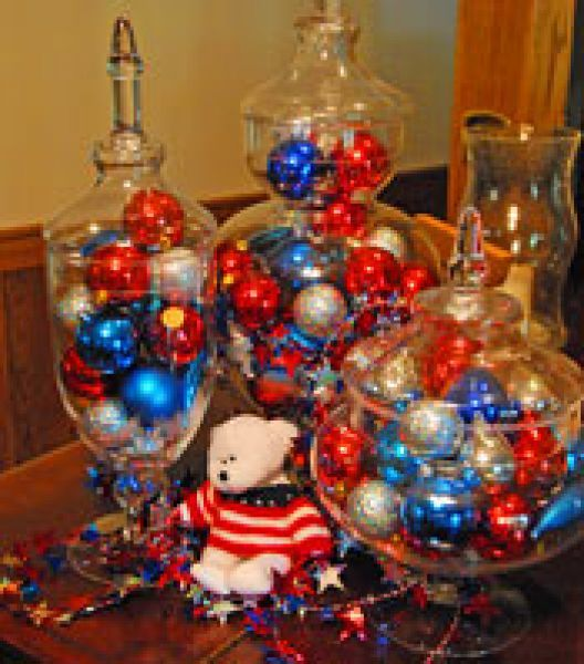 Homemade 4th Of July Table Decorations Fourth Of July