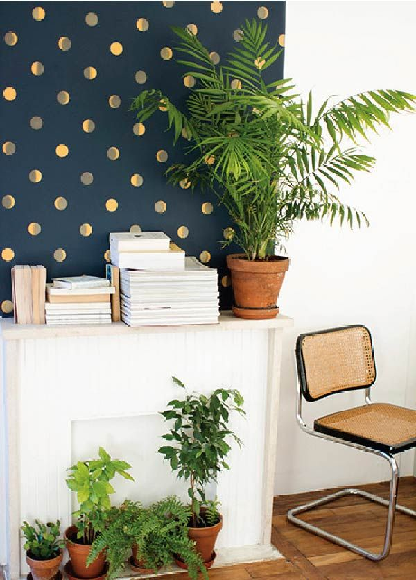 Playing with Pattern: Dots for Grown Ups | Polka dot walls