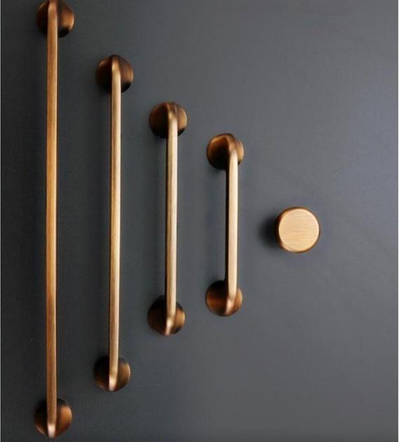 DIA 20 25mm Aluminum Cupboard Cabinet Door Kitchen Knobs Handles Pulls Drawer