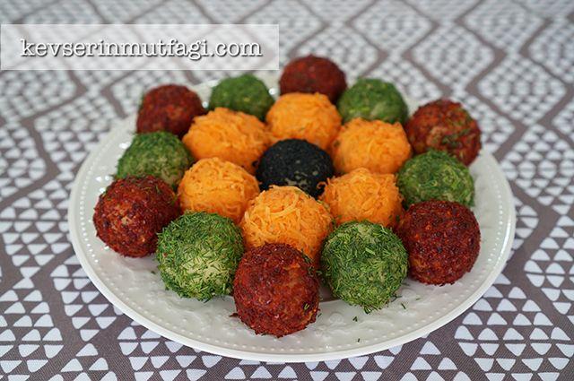 Renkli Patates Topları Tarifi - Kevser'in Mutfağı - Yemek Tarifleri