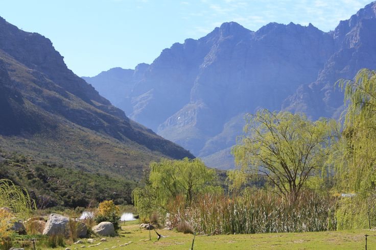 The beautiful Du Toits Kloof Pass - a classic example of South Africas stunning interior scenery!