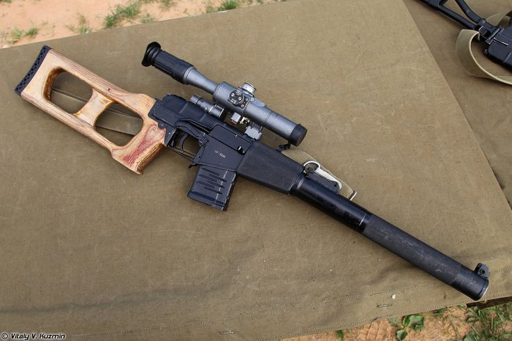 Images for Desktop: vss vintorez sniper rifle wallpaper, 729 kB - Chancey Murphy