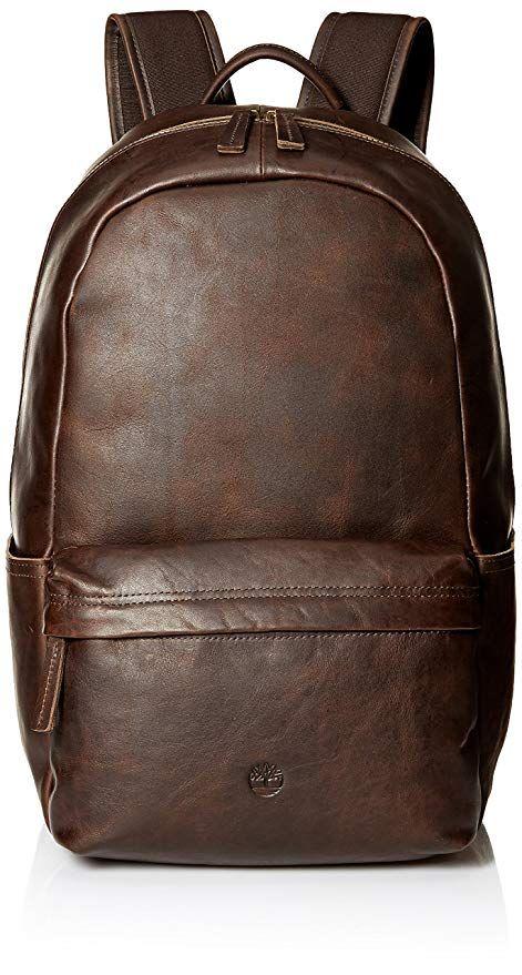 904e936c256 Affiliate  Timberland Men s Tuckerman Leather Backpack   Designer ...
