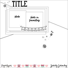 Paper Issues Online Scrapbook Store & More!   Sketches