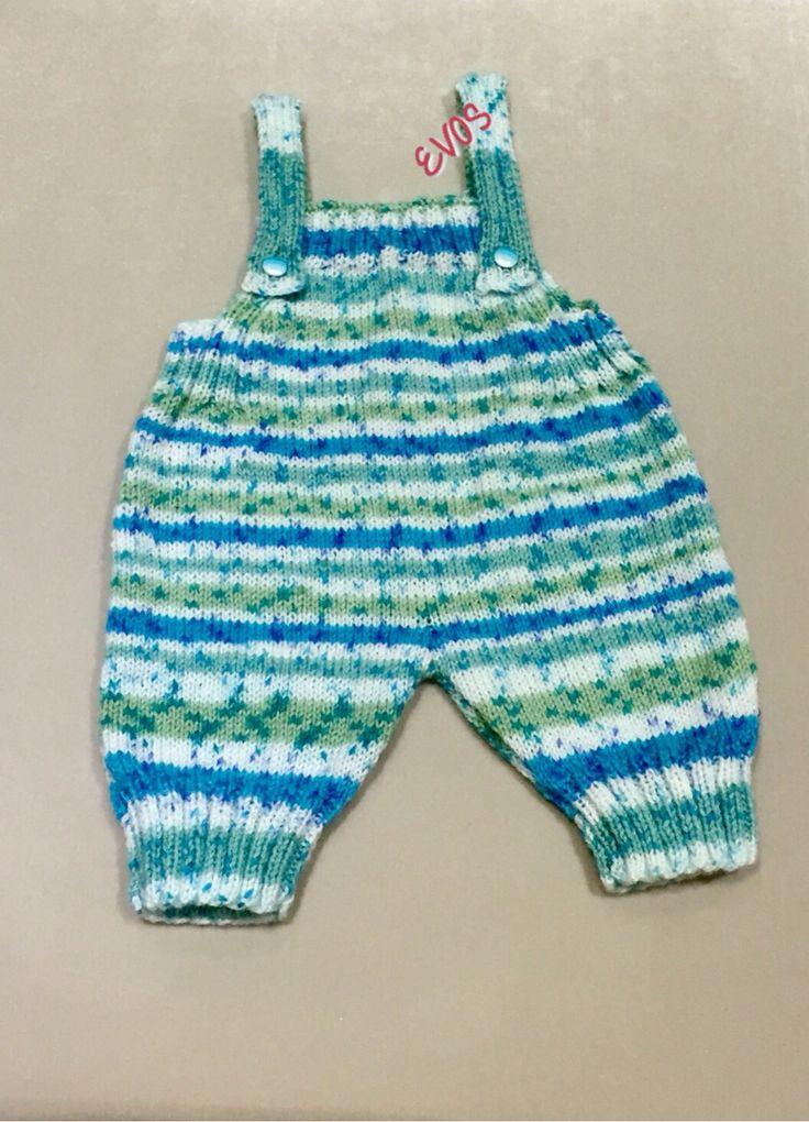 Örgü Bebek Tulumu- Knitting Baby