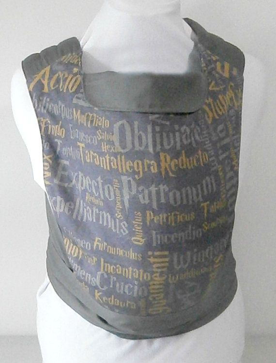 Hey, I found this really awesome Etsy listing at https://www.etsy.com/ca/listing/194492288/harry-potter-cotton-baby-carrier-harry