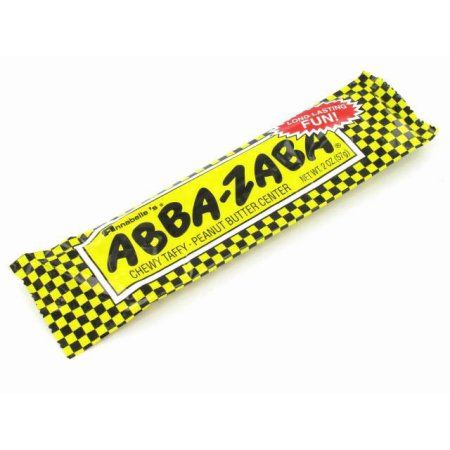 Anabelle's Abba-Zaba Peanut Butter Taffy Candy, 2 Oz
