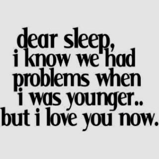 <3 to sleep
