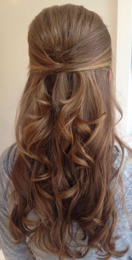 Beautiful Half up Half down Hairstyles