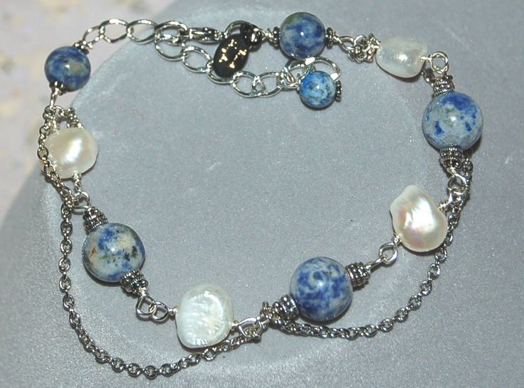 "Armband ""Sweet Blue Moon"""