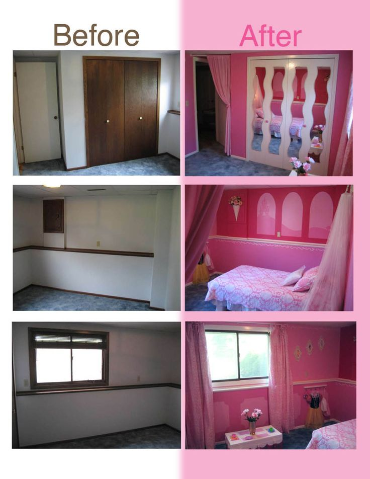 Princess Themed Bedroom by my sister Heidi Panelli - with links and progress photos!